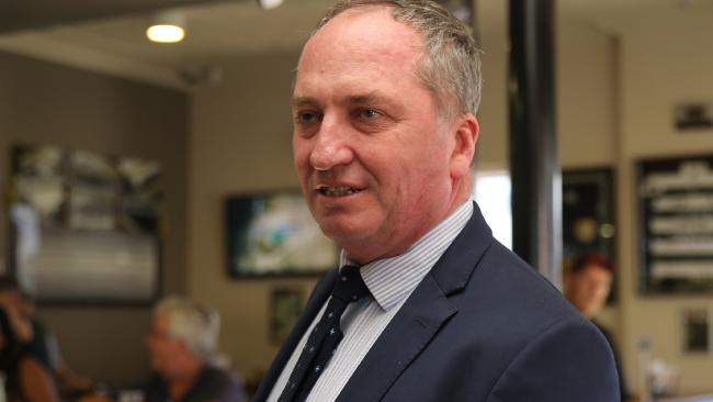 Barnaby Joyce's time on the back bench could be short lived. Picture: John Grainger Bye Bye Barnaby! Joyce resigns as DPM