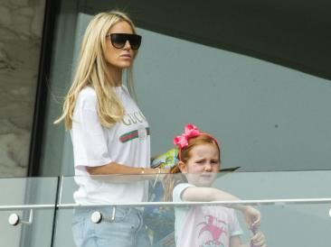Roxy Jacenko with her daughter Pixie. Picture: Jenny Evans