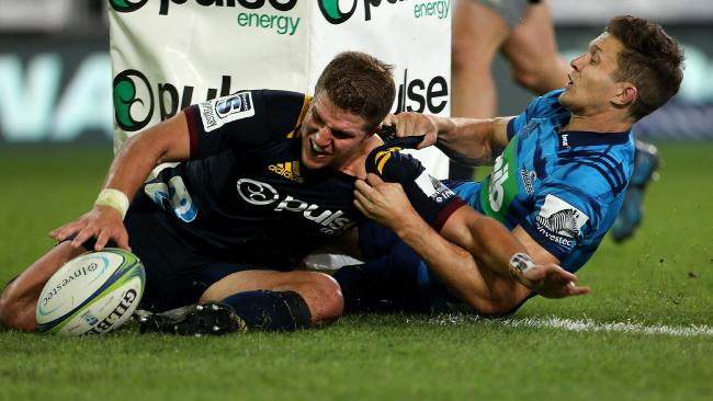 Teihorangi Walden will line up in teh centres for the Highlanders.