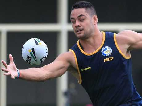 Jarryd Hayne has been under the pump in pre-season.