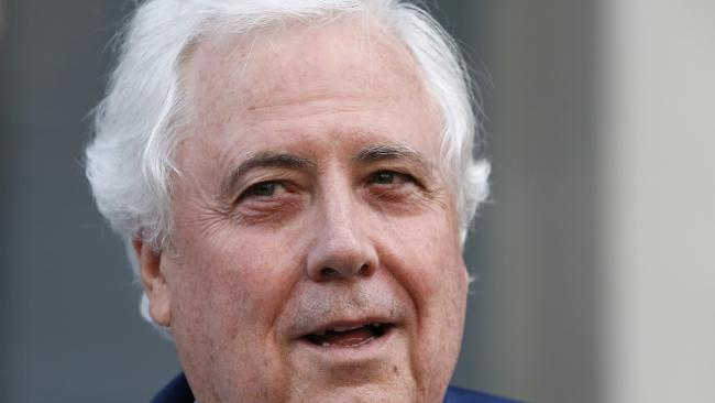Clive Palmer has announced the Palmer United Party will return to contest the next federal election. Picture: AAP/Regi Varghese