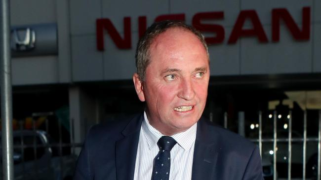 Mr Joyce is expected to step down as Nationals leader at the press conference. Hollie Adams/The Australian.