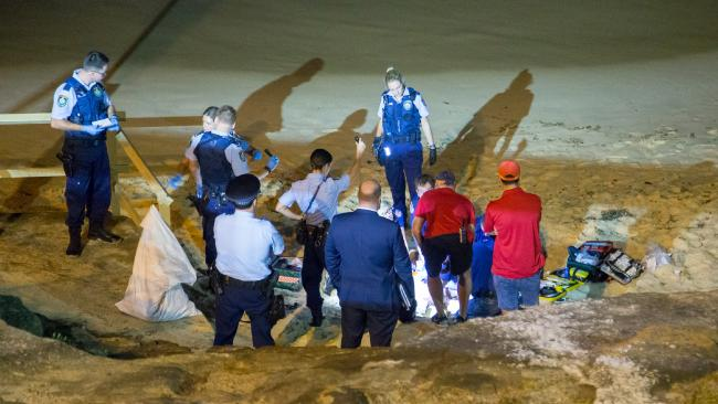 A woman's body has been found on Maroubra Beach. Picture: Damian Hofman