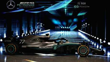 The Mercedes W09.