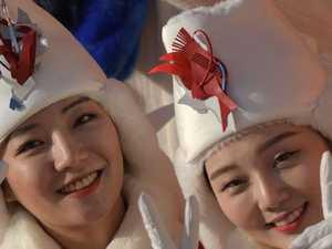 Dark side to North Korean cheer squad