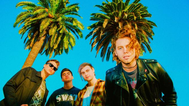 5 Seconds of Summer are back with a tour and new song. Picture: Supplied
