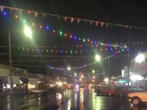 WATCH: Stanthorpe lights up for Apple and Grape