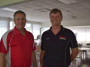 Chris Bonanno and George Steenkamp.