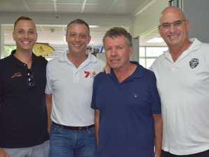 Joseph Rickman, Steven Boxall, Paul Bartolo and Eric