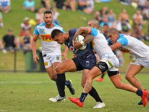 RUGBY LEAGUE: NRL trail. Titans v Warriors. Warrior's