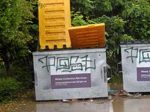 Police plea for residents to report graffiti crime