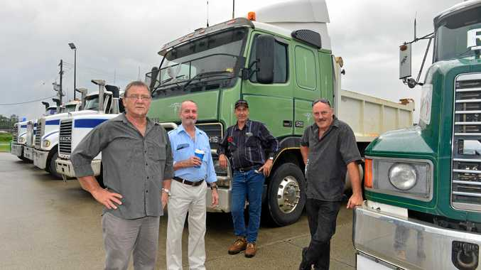 Perfect send-off for 'larger-than-life' Coast truckie
