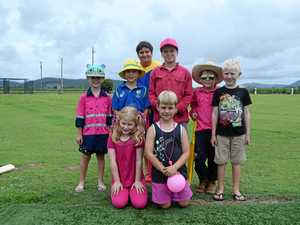 Prossie's pink stumps day