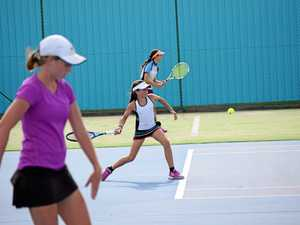 Future tennis stars clash on court in Warwick