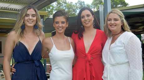 Ashleigh Pollock, Renaee Pollock, Brianah Snow, and Brooke Hams.