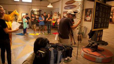 The home doubled as a studio and Scott Cam's in 2012. Picture: Supplied