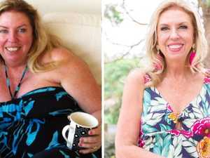 Before and after ... Gen lost 30kg. Picture: Supplied