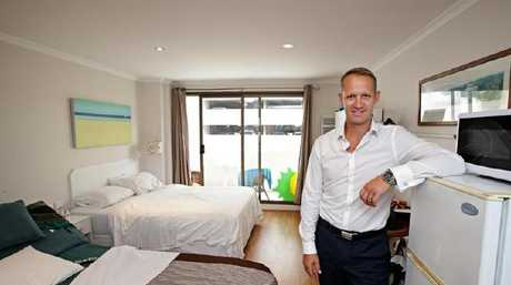 Agent Toby Hutton says Manly property market is booming right now. Photo: www.realestate.com.au