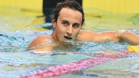 Cameron McEvoy is wary of the local talent on the Gold Coast this week.