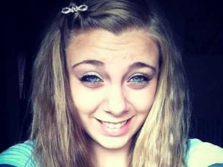 Kaylee Muthart gouged out her own eyes in front of a church in South Carolina while hallucinating on drugs. Picture: Facebook