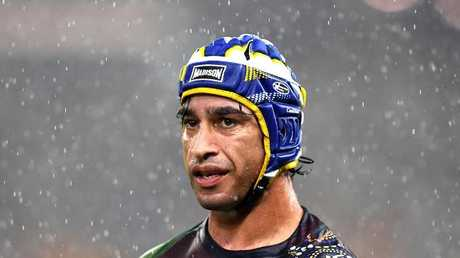 Johnathan Thurston starred in his second game back from injury against Melbourne