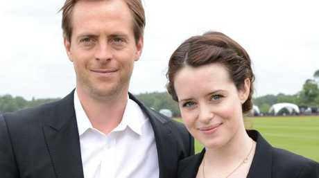 Stephen Campbell Moore and Claire Foy in 2013. Picture: Rex Features/Splash News