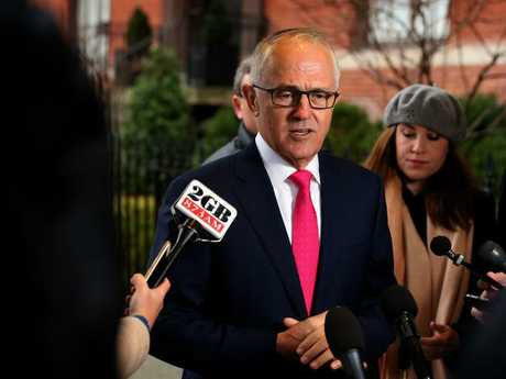 Malcolm Turnbull says Barnaby Joyce made the 'right decision' to resign. Picture: Nathan Edwards