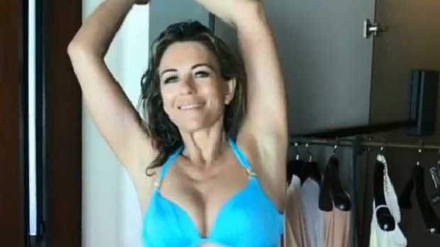 Liz Hurley's latest in a long line of Instagram bikini shots
