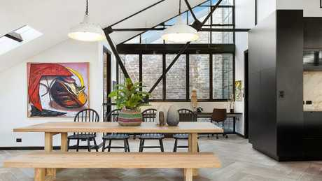 The dining room of the home with the $4 million price guide. Picture: Supplied
