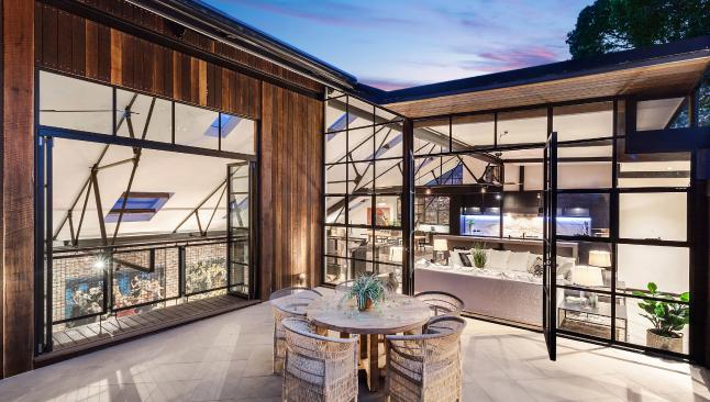 Reluctant sale: The Block co-creator Julian Cress and wife Sarah have listed the family's sprawling Sydney for sale. Picture: Supplied