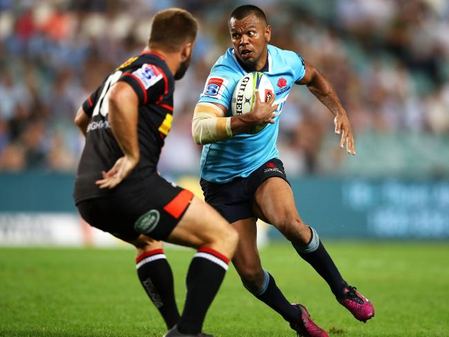 Kurtley Beale is under an injury cloud.