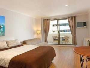 LOST THE PLOT: Tiny hotel room's hefty price tag