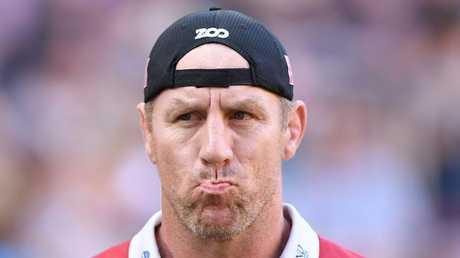 Reds coach Brad Thorn has plenty to ponder.