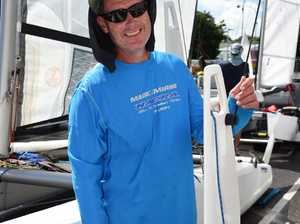 Hervey Bay sailing regatta - Matthew Caldwell from