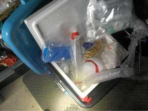 Meth labs found in targeted raids