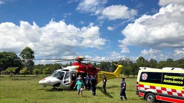 Man suffers serious leg injuries in farm accident