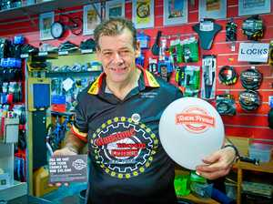 TOWN PROUD: Bike shop rides high on support