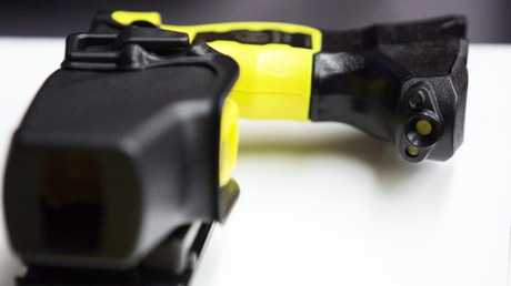 In one case, someone was attacked with a Taser at school.