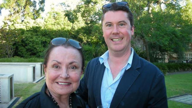 Pictured with Peter McInerney. Picture: Robin Amadio