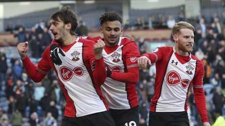 Southampton's Manolo Gabbiadini celebrates