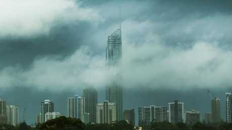 Some parts of Queensland will start to clear up today. Picture: Glenn Hampson/ News Corp Australia.