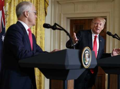 Malcolm Turnbull says Australia's relationship with the US is at a 'high point'. Picture: AP Photo/Carolyn Kaster