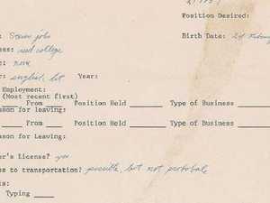 Steve Jobs' $50,000 error-strewn CV