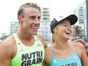 Couple creates history in Nutri-Grain series