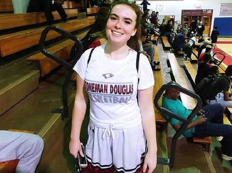 Madeleine Wilford survived the Florida school shooting. Picture: Facebook