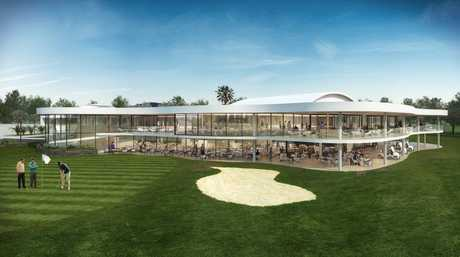BIG PLANS: An artist's impression of Gympie RSL Club's proposed new golf club venue.