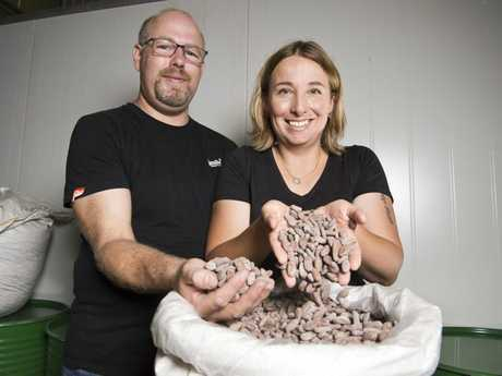 Trevor and Magdalena Smith are bringing their award-winning Metiisto chocolate to Toowoomba.