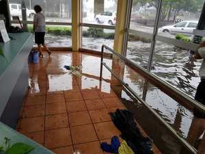 Flash flooding as storm hits region