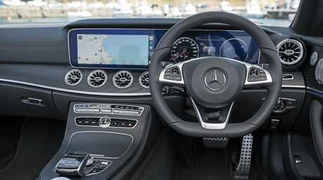 The 2018 Mercedes-Benz E400 Cabriolet.