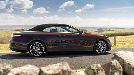 The Mercedes-Benz E-Class cabriolet.